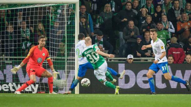 (W. Bremen 2-0 Wolfsburg   Foto: Imago/Bundesliga)