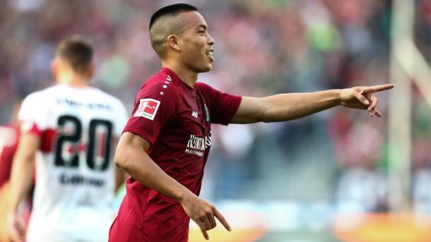(Hannover 3-1 Stuttgart   Foto: Bundesliga)
