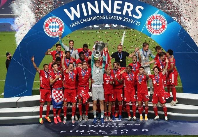 El Bayern Múnich, vigente campeón de la liga de campeones. / Twitter: Bayern Múnich oficial