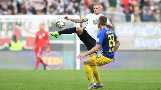 (Augsbur 0-0 RB Leipzig | Foto: Bundesliga)