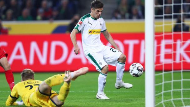 (B. Mónchengadblach 4-0 Mainz | Foto: Gaming/Bundesliga)