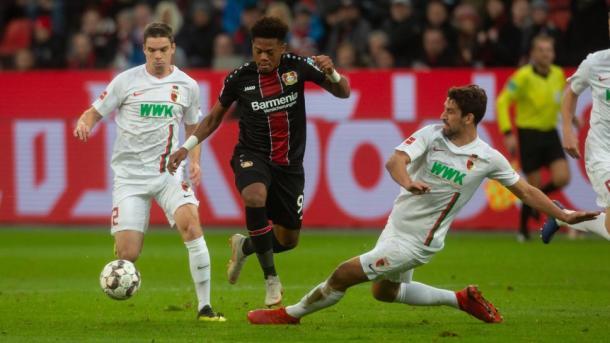 (B. Leverkusen 1-0 Augsburg   Foto: Assets/Bundesliga)