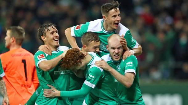 (W. Bremen 3-1 F:Düsseldorf   Foto: Assets/Bundesliga)