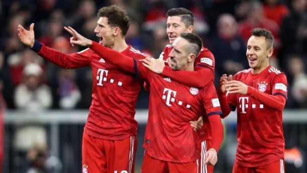 (B. Munich 3-0 Núremberg   Foto: Assets/Bundesliga)