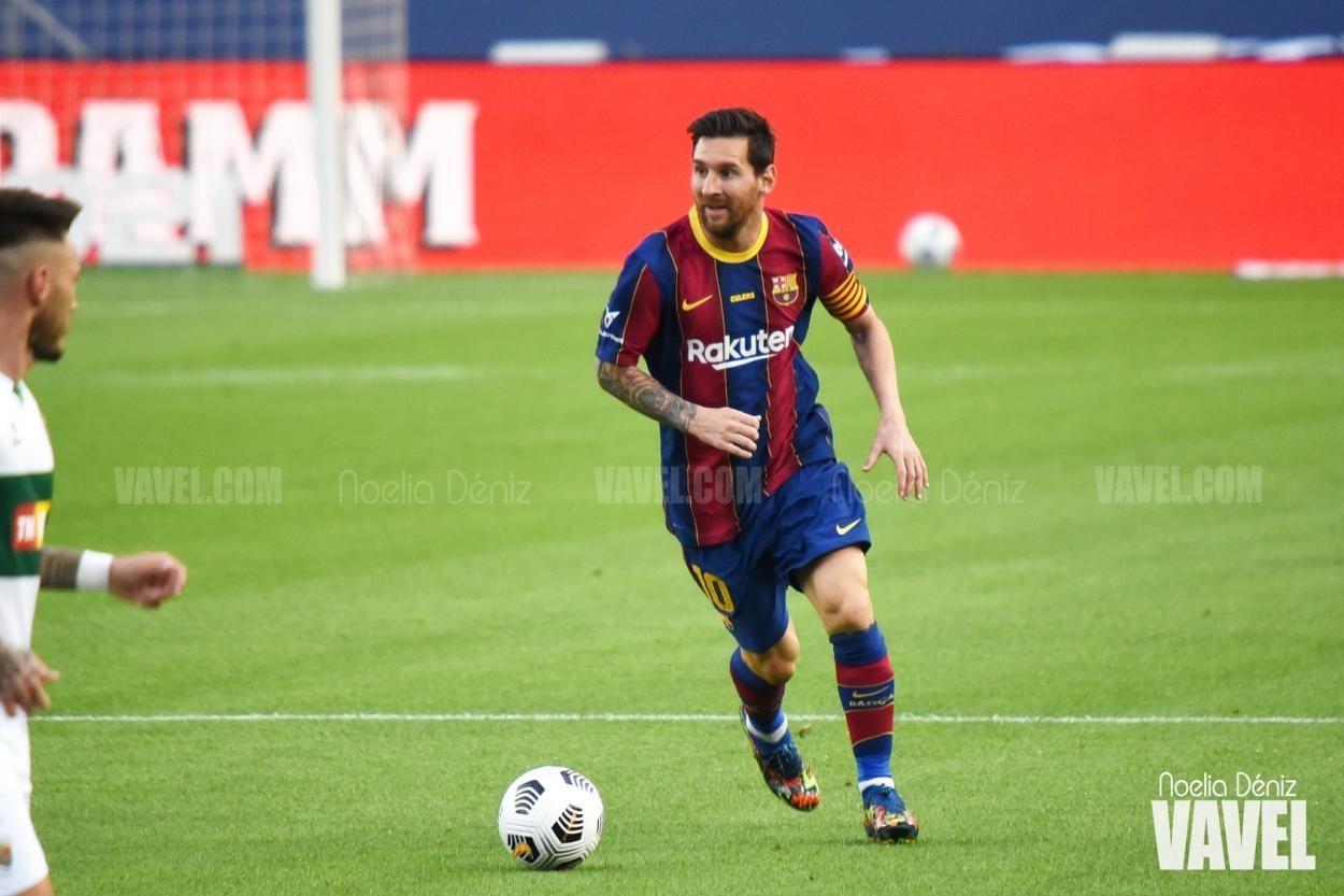 Messi ante el Elche | Foto: VAVEL