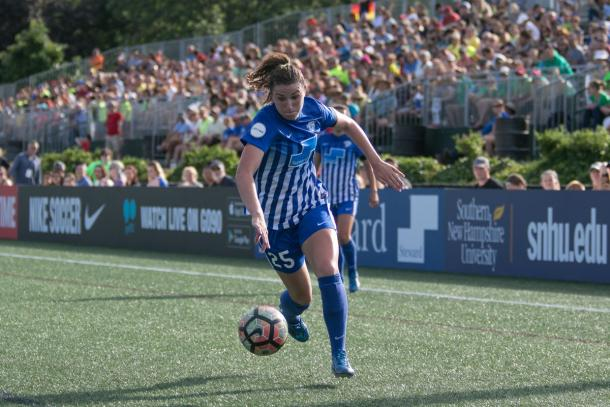 Morgan Andrews can become a mainstay in Seattle if her game develops correctly | Source: Amy Pearson-The Bent Musket