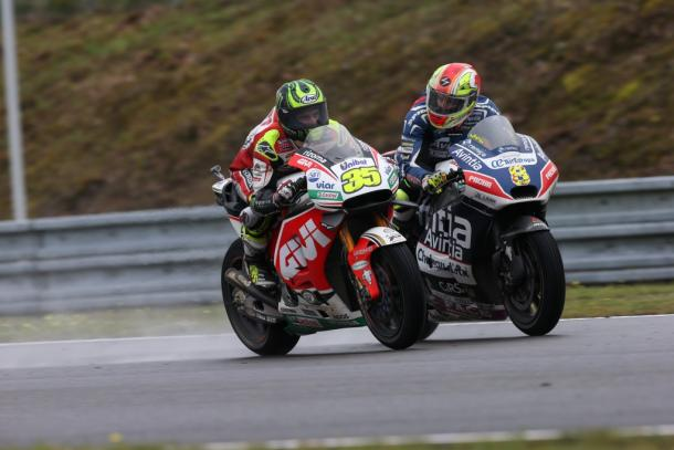 Barbera wondering where Crutchlow (Brno race winner) emerged from - www.avintiaracing.com
