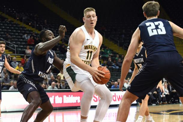 Love will look to lead Wright State back to the NCAA's for the second straight year/Photo: R. Keith Cole/Wright State athletics