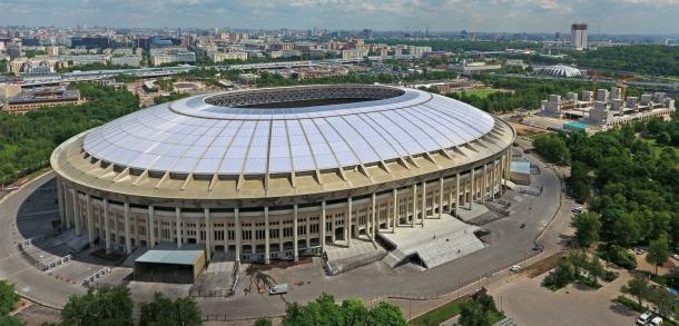 Ainda não há data para a reabertura do Luzhniki, que receberá a final da Copa de 2018. (Foto: Stadium DataBase)