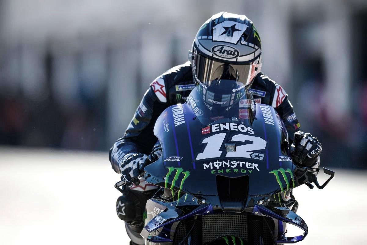 Maverick Viñales, Monster Energy Yamaha / Fuente: MotoGP
