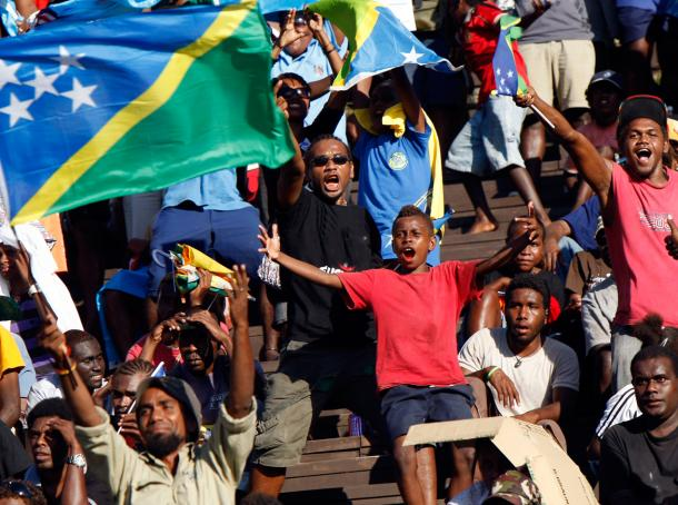 Solomon Island fans rejoice as they are in the driver's seat to win Group B | OFC Media