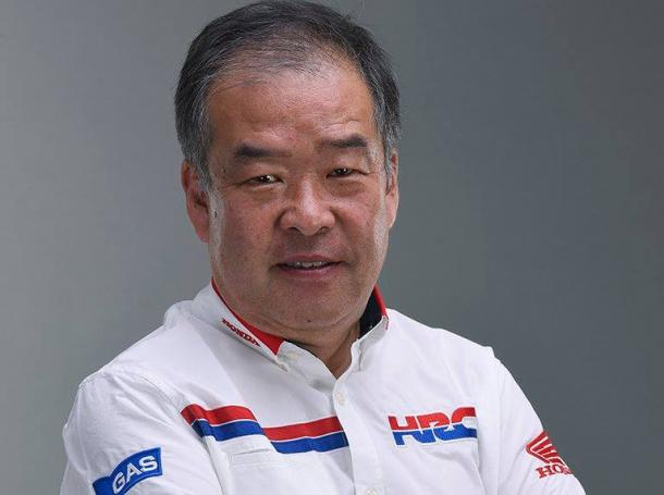 Nakamoto, vicepresidente del HRC. Imagen vía Box Repsol.