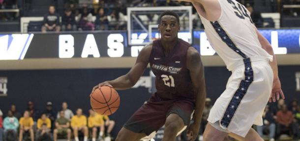 Coleman is an elite big man for UMES/Photo: Maryland-Eastern Shore athletics website