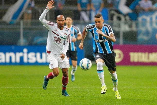 No ano passado, o Grêmio venceu o Fluminense por 1 a 0, no segundo turno do Campeonato Brasileiro (Foto: Divulgação/Grêmio)