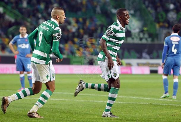 William não falhou (Foto: Facebook oficial Sporting / César Santos)