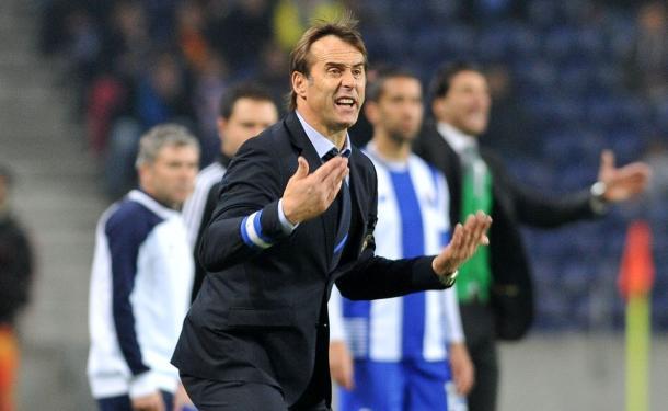 Lopetegui teve tudo ao seu dispor, mas não teve sucesso // Foto: Facebook do FC Porto