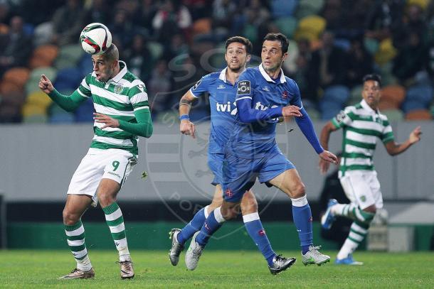 Na primeira volta o resultado foi favorável ao Sporting, que venceu 1-0 // Foto: Facebook do Sporting CP