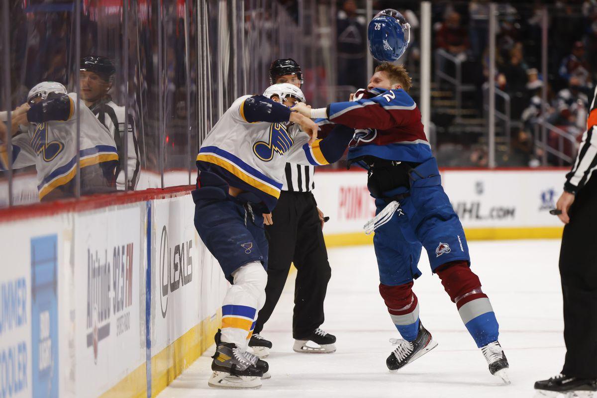 St. Louis vs Colorado Avalanche   Foto: Mile High Hockey