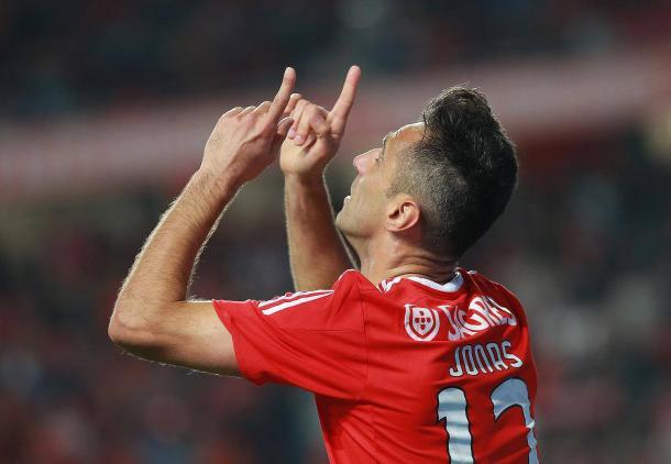 Jonas poderá mesmo vencer a Bota de Ouro // Foto: Facebook do SL Benfica