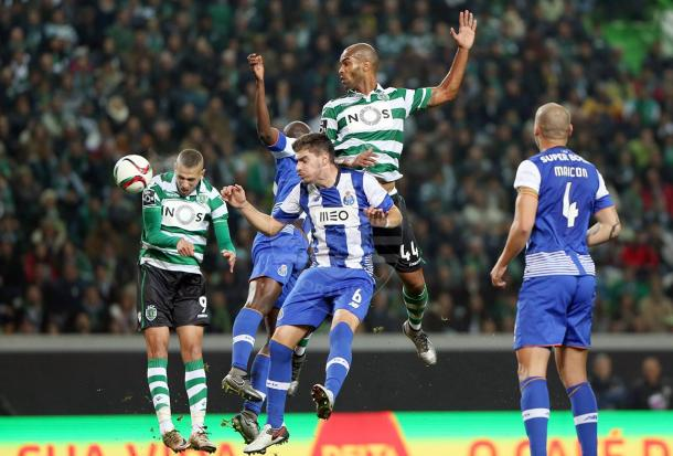 O Porto tem descido de forma, e perdeu o embate da primeira volta em Alvalade // Foto: Facebook do Sporting CP