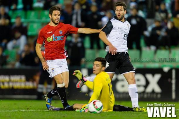 Pedro Conde anotó un hat-trick en la goleada del Mérida por 6-0