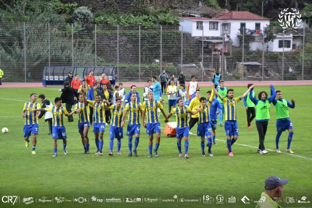 Fonte: Facebook do Clube de Futebol União da Madeira