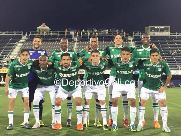 Once titular ante Medellín Foto: DeportivoCali.co