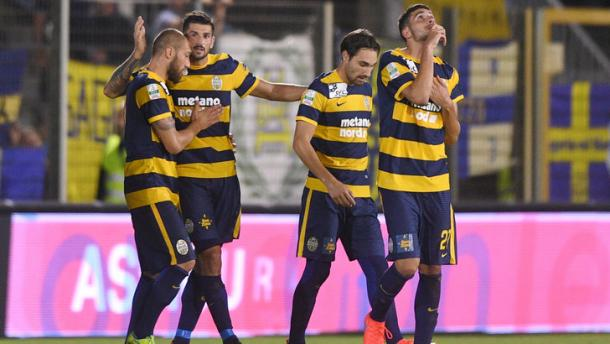 Esultanza dell'Hellas Verona | www.tuttosport.com