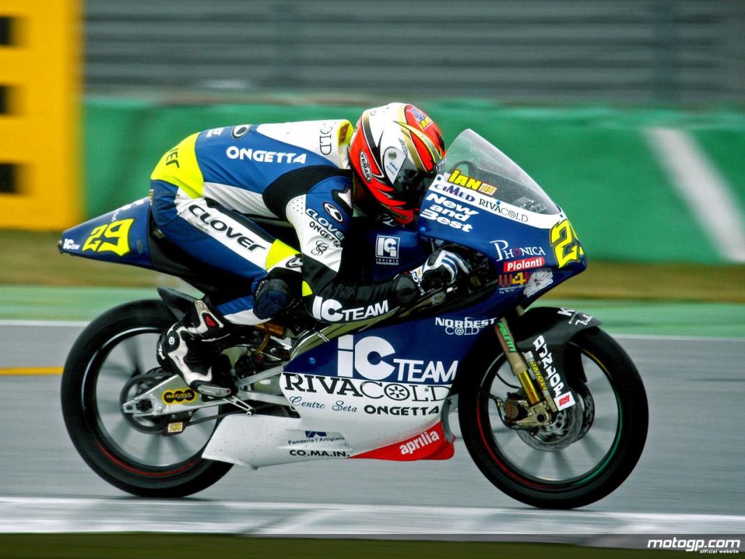 Andrea Iannone en 125 / MotoGP.com