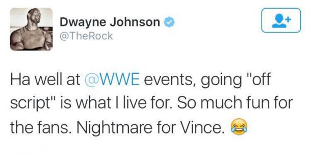 Photo: @TheRock