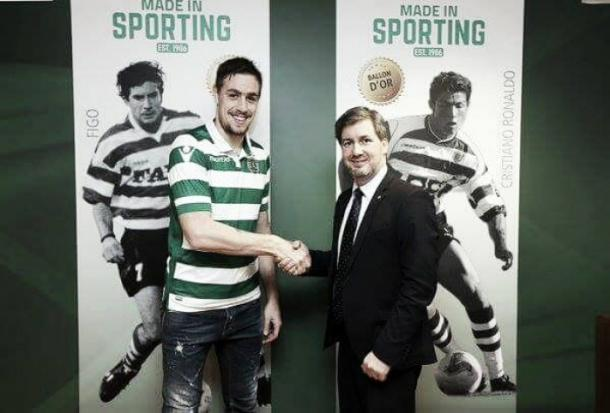 Coates joined Sporting back in January. (Photo: Sporting CP)