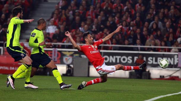 Jonas soma já 30 golos no campeonato // Foto: Facebook do SL Benfica