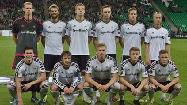 Equipo noruego del Rosenborg. Fuente: livefutbol.com