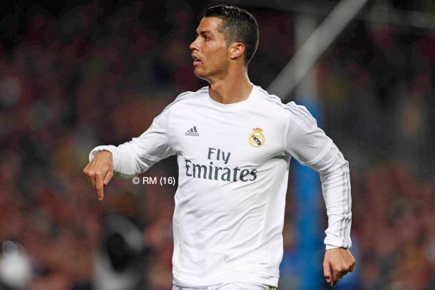 Ronaldo brindou mais uma vez com o seu futebol extra-planetário // Foto: Facebook do Real Madrid