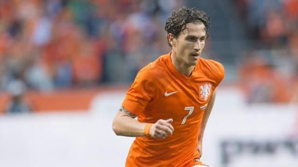 Janmaat signed for the Hornets yesterday (Photo: Getty Images)