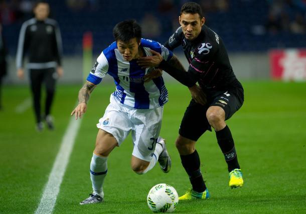 Suk foi um dos autores dos golos // Foto: FC Porto