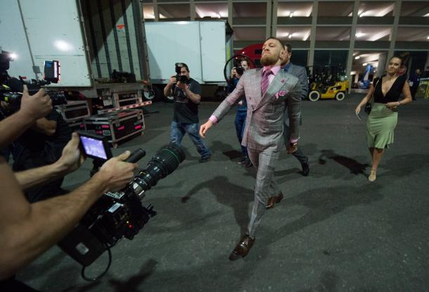 Conor McGregor has arrived. Photo: UFC