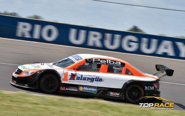 Matías Rodríguez girando en Paraná. Foto: Top Race.