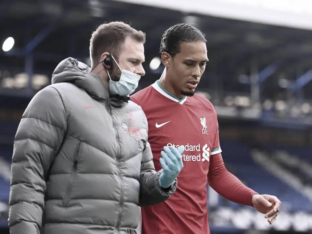 La lesión de van Dijk, el punto de quiebre del Liverpool | Foto: Premier League