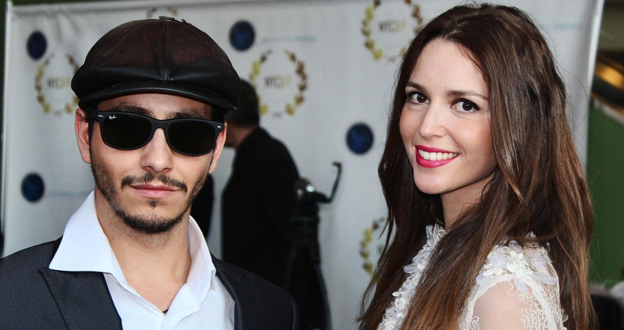 J.K. Álvarez  y Arianna en el Festival Internacional de Cine de Nueva York. talent.mgcandco