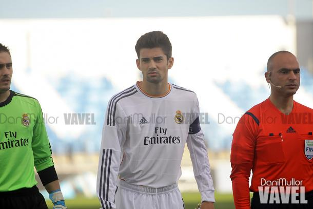 Enzo Zidane in a training session