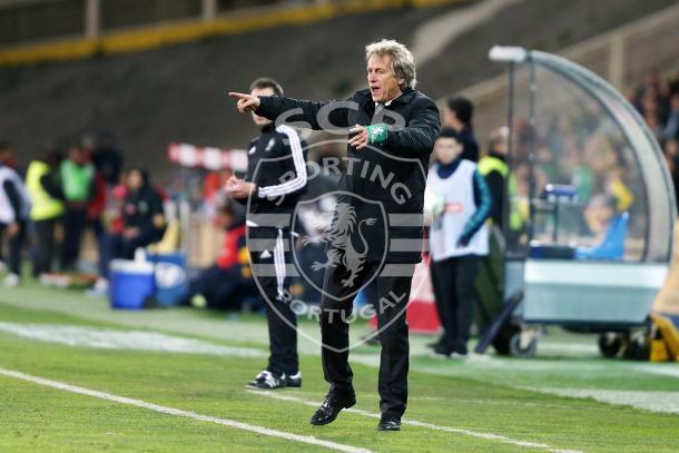 Jorge Jesus quer a vitória // Foto: Facebook do Sporting CP