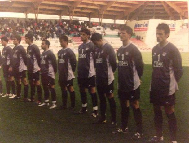 El primer equipo salió con una camiseta en recuerdo de Nico en aquella jornada