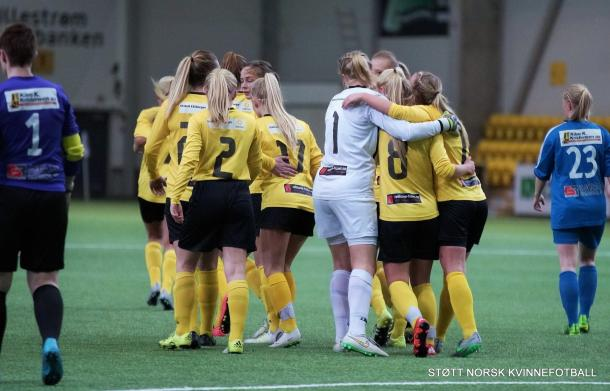Will LSK be able to propel themselves to top spot this week? (Photo: Støtt Norsk/Kvinnefotball)