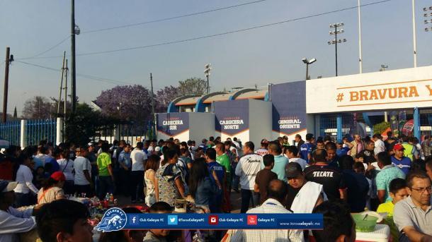 Aficion llegando al estadio MAV / Foto: Club Celaya FC