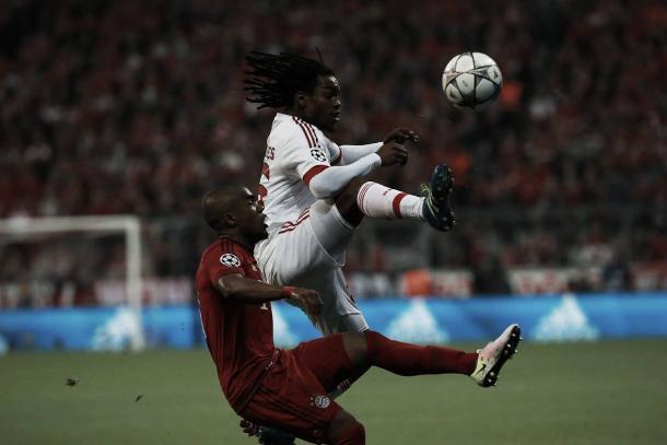 O Bayern já vencia por 1-0 ao intervalo, resultado que se manteve até ao fim