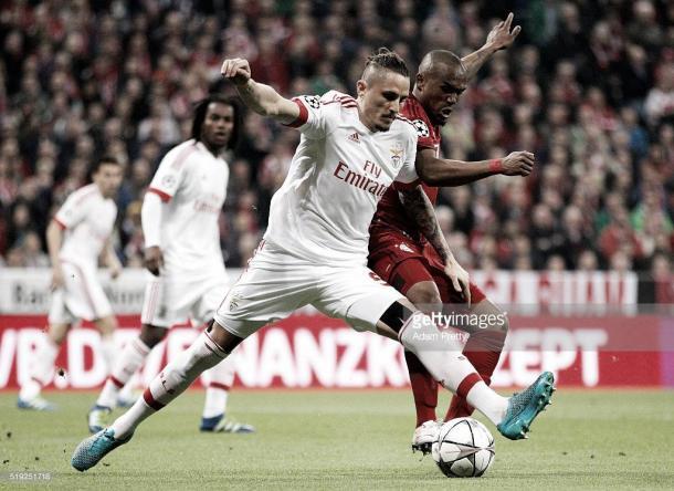 O Benfica foi eficaz a travar os craques do Bayern na segunda metade do jogo
