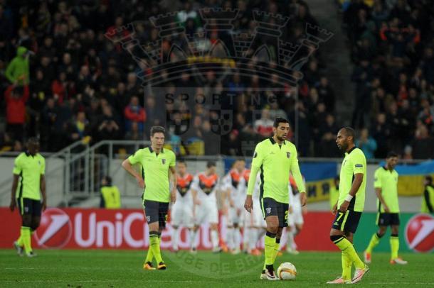 O SC Braga está fora das competições europeias // Foto: Facebook do SC Braga