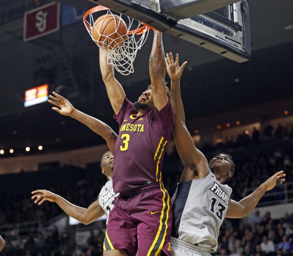 Murphy was unstoppable in the second half/Photo: University of Minnesota athletics website
