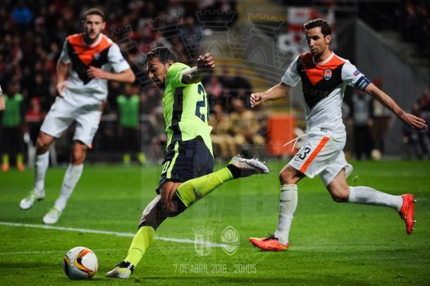 O Braga tentou, mas a pontaria falhou // Foto: Facebook do SC Braga